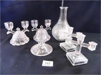 Candlesticks-1 set 1940's per seller