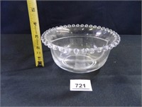 Candlewick Divided Bowls; (2)