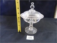 Candlewick Candy Dish; w/lid