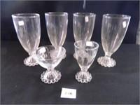 Candlewick Glasses; (8)