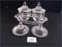 Marmalade Cups w/Under Plate