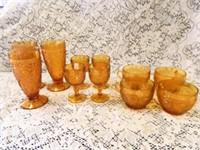 Tiara Sandwich Glass Glasses & Cups