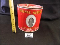 Prince Albert Tobacco Can