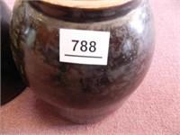 Stoneware Crocks; (2); No Lids
