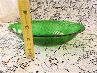 Forest Green Bowls; (3); Assorted