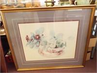 Floral Theme Framed Art (10)