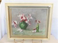 1989 Lindholm Painted Canvas, Framed