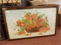 Original Art, Framed - 1926 large piece