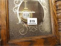 Ridgeway Wood Wall Clock