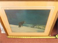 Wildlife Theme Art, Framed (3)