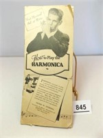 How To Play The Harmonica Pamphlet