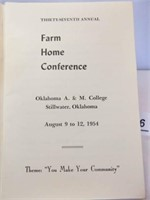 1954 Oklahoma A&M College Pamphlet