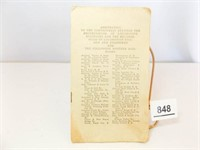 1915 Railroad Arbitration Pamphlet