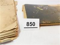 Tennyson Notebook, Autograph Book (2)