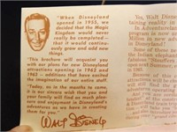 1960's Disneyland Pamphlet