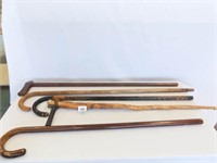 Wooden Canes (5)