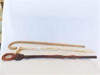 Wood Canes (3)