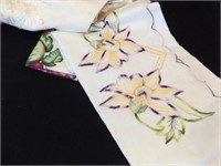 Embroidered, Appliqued Linens- Variety (20+)