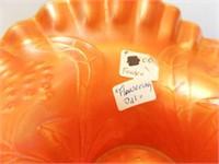 Carnival Glass Bowl, Fenton, Flowering Dill