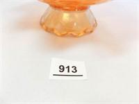 Carnival Glass Bowl, Dogwood Sprays