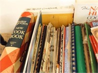 Cooking Books, Pamphlets - 2 Boxes - (50+)