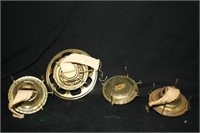 Oil Lamp Parts; Eagle Brand (4 total)
