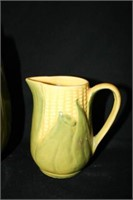 """Corn King"" Cookie Jar; Small Pitcher; Bowl"