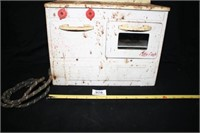"""Little Lady"" Metal oven/stove (Rusty)"