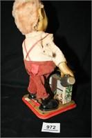 """Charley Weaver Bartender"" Tin Toy; Smokes"