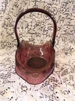 Mosser Glass Basket-per seller