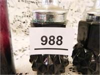 Tiara S&P Shakers-per seller; Black