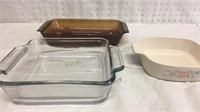 Anchor Hocking and Assorted Bakeware