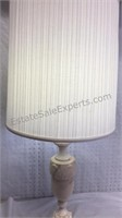 """Marble Table Lamp 37"""""""