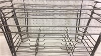 4 Chafing Racks and 8 Cans Chafer Fuel (full)