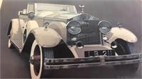 Bob Rector Framed Art approx 26x34 - back of