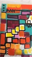 Ann Arbor Artist Leah Nadeau Painting 6x6