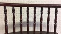 Vintage Wooden Seat 27x19 1/2x11 1/2