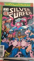 Assorted Silver Surfer Comic Books