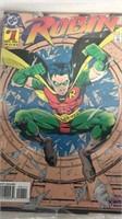 Assorted Batman & Robin Comic Books