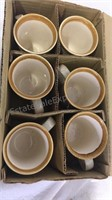 Mikasa Garden Club - Set of 6 Coffee Mugs