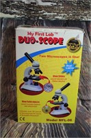 Duo-Scope Microscope Battery operated