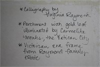 States Victorian Era Frame Vatican Art