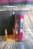 Lot of Office Supplies Notebook Book Holder