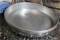 Lot of Vintage Flour Sack Cake pans