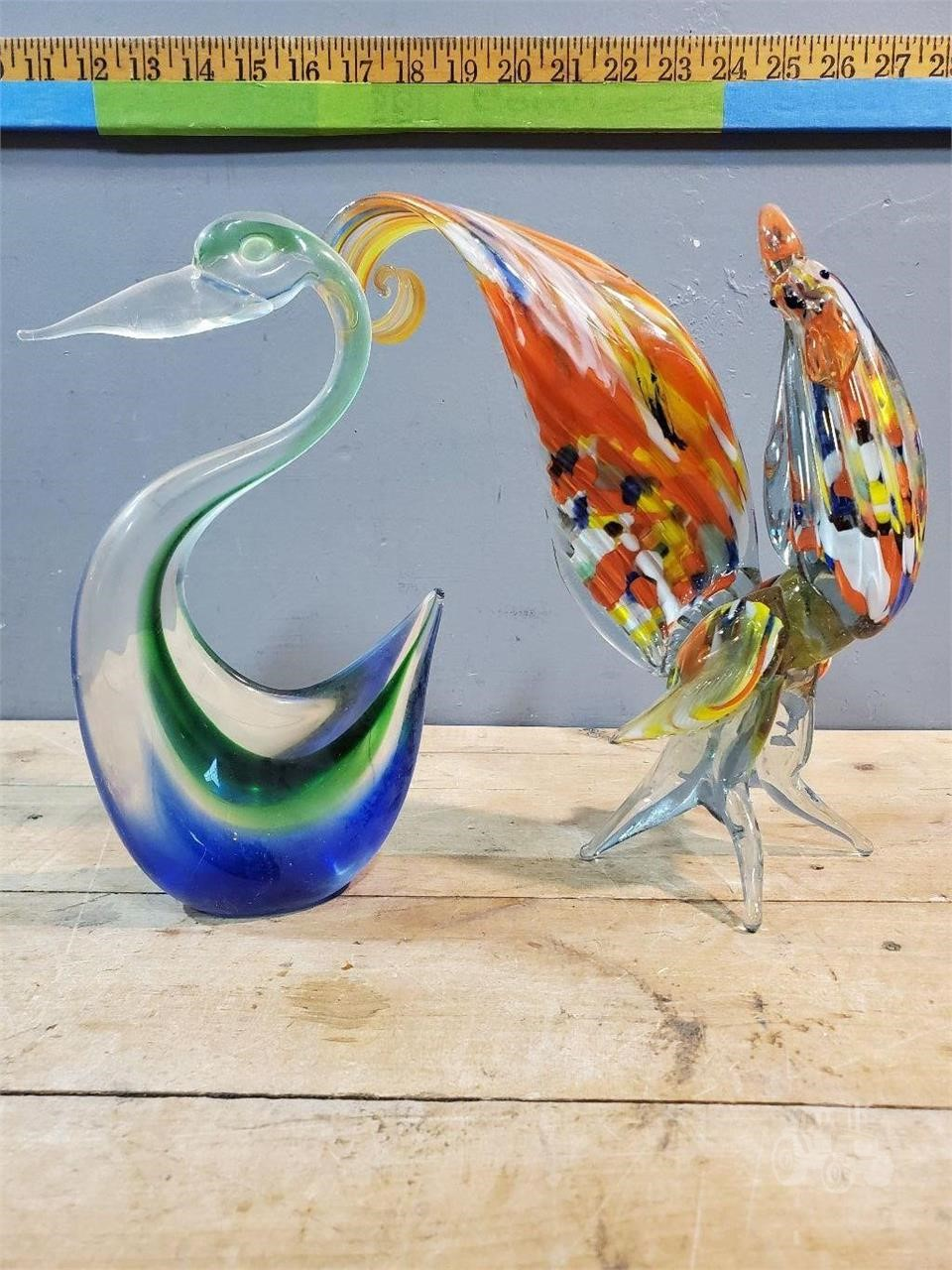 Hand Blown Glass Pelican Rooster Other Items For Sale 1 Listings Tractorhouse Com Page 1 Of 1