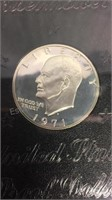 US Eisenhower 1971 Proof Dollar
