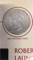 US 1926 Silver Peace Dollar