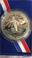 US 1986 Liberty Silver Dollar Coin