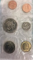 US 1972 Uncirculated Coin Set