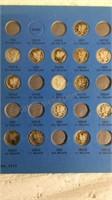 51 Mercury Head Dime  1916-1945 Partially